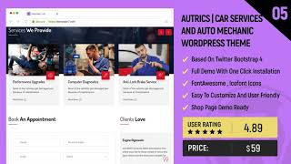Car Service Wordpress Theme Review & Demo | Mechanic Auto Shop WordPress Theme | Car Service Price & How to Install