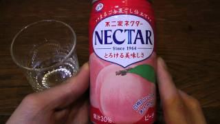 不二家ネクター とても美味しいもものジュース