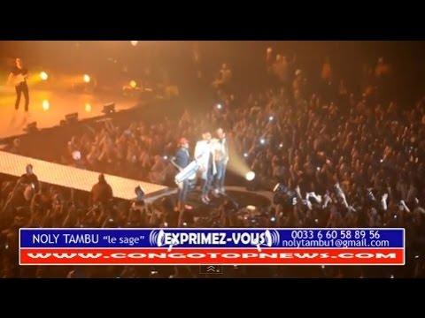 MAÎTRE GIMS Présente Son Papa DJUNA Au Concert PARIS BERCY+ Interview NISKA et Son DISQUE DE DIAMANT