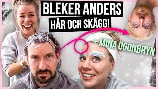 BLEKER Anders HÅR och SKÄGG + mina ögonbryn!