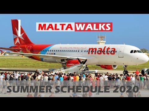 Summer Schedule 2020  from 1. July - Malta Airport