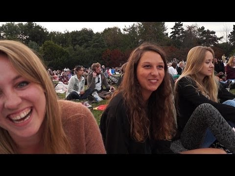 CONCERT IN THE PARK- Amsterdam Girls Picnic