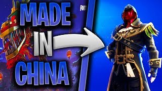 "HOW to GET ALL the ""CHINESE"" SKINS FOR FREE at FORTNITE BATTLE ROYALE and Rost 🍚"