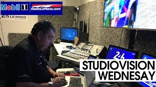 Mobil 1 Radio Le Mans Studio Vision - Wednesday