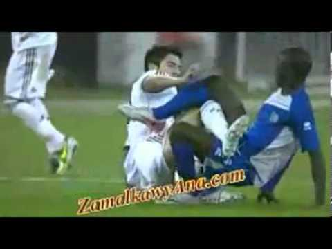 Enzo Zidane Recieves Red Card After Violent Intervention - 29.01.2013