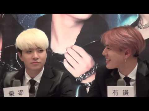 [HD] 150119 GOT7 Asia Tour Showcase in Taiwan : Press Conference