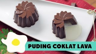Resep Puding Cokelat Lava