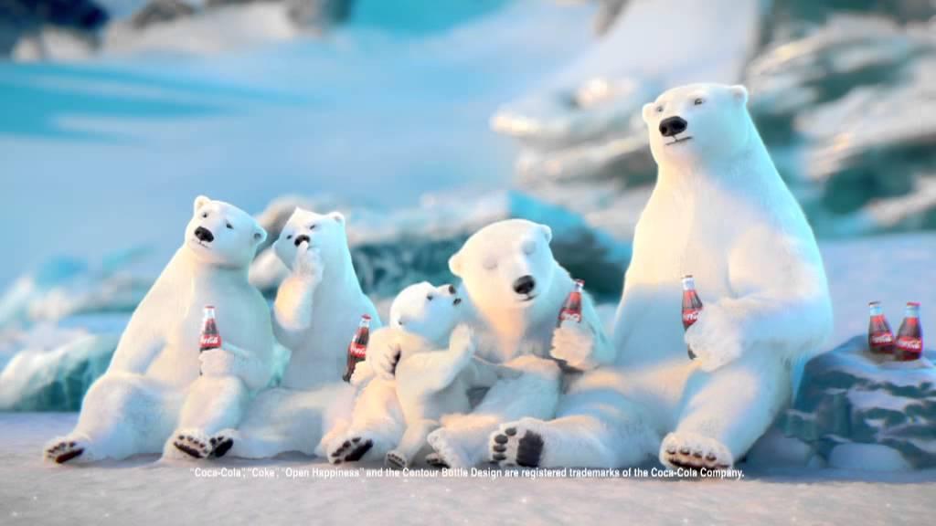 coca-cola polar bear - tv commercial