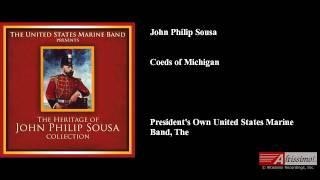 John Philip Sousa, Coeds of Michigan