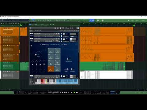 Cinematic Studio Solo Strings Demonstration sound