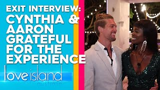 Exclusive: Cynthia and Aaron reveal why they were drawn to one another | Love Island Australia 2019