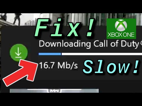 XBOX ONE HOW TO FIX SLOW DOWNLOAD TO FASTER SPEED!