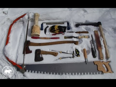 The Hand-tools I Am Using to Build My Log Cabin and Choosing the Cabin Site