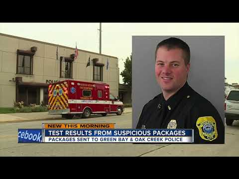 FBI releases test results from suspicious package investigation at Green Bay, Oak Creek Police Depts