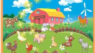 Чей Голос на Ферме? учим животных для самых маленьких кто как говорит игры онлайн Мультики для детей