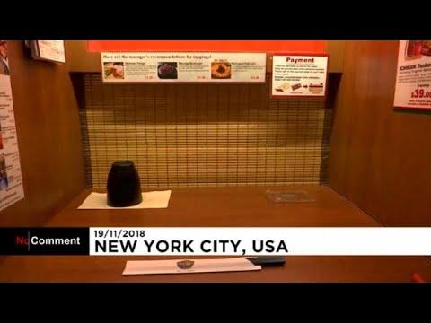 سكينة غير معهودة في مطاعم يابانية وسط نيويورك  - نشر قبل 3 ساعة