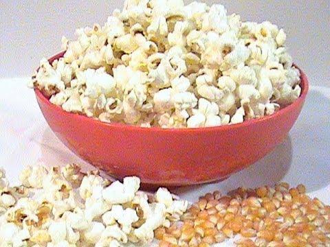 Como preparar las palomitas de maiz popcorn youtube - Como hacer palomitas de caramelo caseras ...