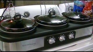 Kitchen Living (Aldi) Triple Slow Cooker (2.5 QT) Review