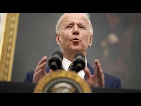 Biden Says Rescue Plan Would Create 7.5 Million Jobs