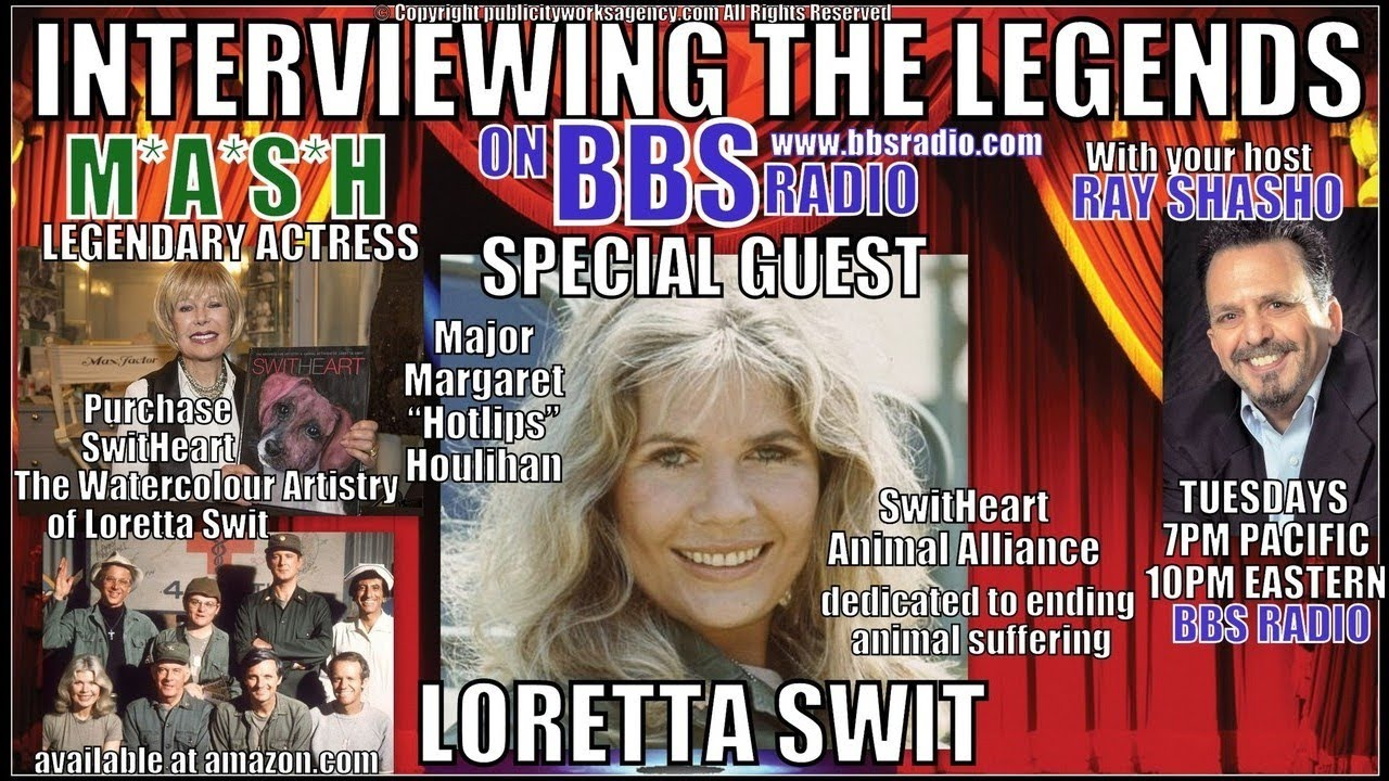 "Loretta Swit (Major ""Hot Lips"" Houlihan) M*A*S*H Icon"