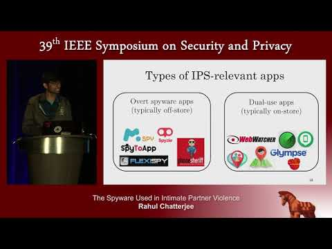 The Spyware Used in Intimate Partner Violence