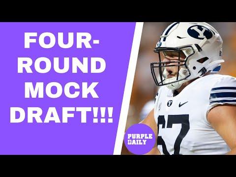 Minnesota Vikings mock draft: MULTIPLE offensive linemen drafted!