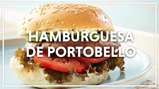 Chef Oropeza Receta de: Hamburguesa de Portobello/ Hamburger Recipe