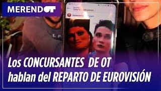 Marta, María, Marilia, Dave y Damion hablan del reparto de temas de Eurovisión #MerendOT   OT 2018
