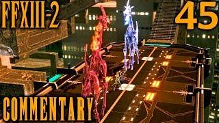 Final Fantasy XIII-2 Walkthrough Part 45 - Pacos Amethyst & Luvulite Boss Battle (Academia 500 AF)