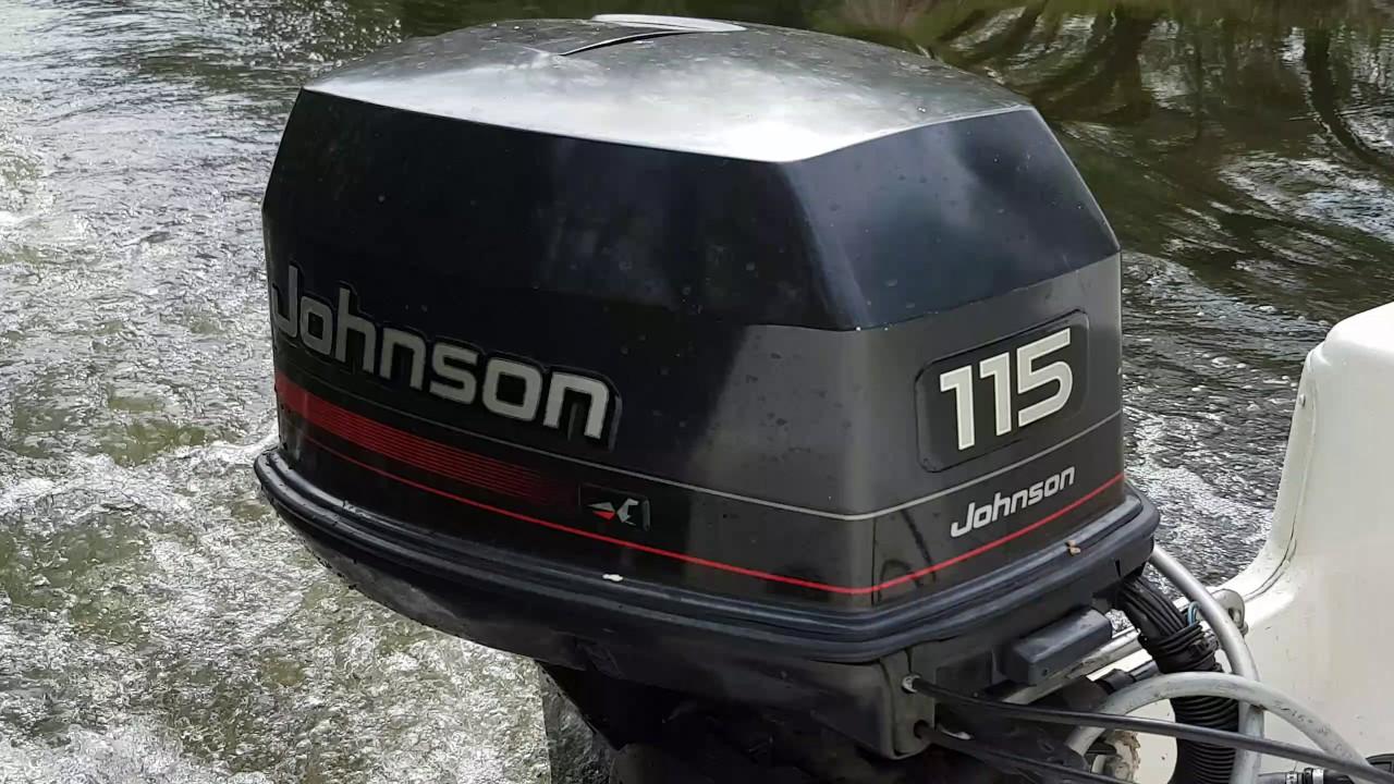 Johnson Outboard Marine Motor 115 HP V4
