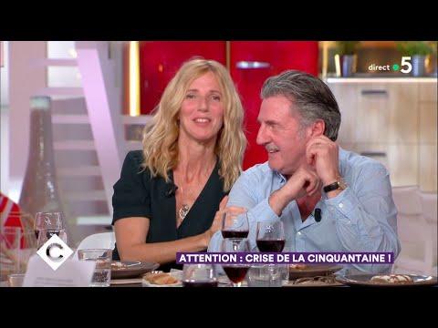 Au dîner avec Sandrine Kiberlain et Daniel Auteuil - C à Vous - 23/04/2018