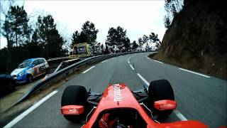 Onboard with David Hauser (Dallara GP2) - Course de côte du Col Saint Pierre 2012