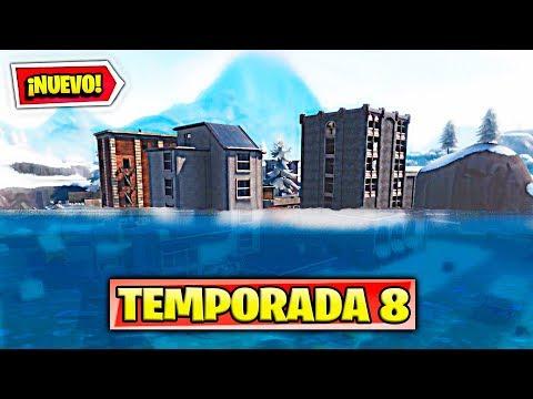 *TEMPORADA 8* INUNDACION EN EL NUEVO MAPA de FORTNITE