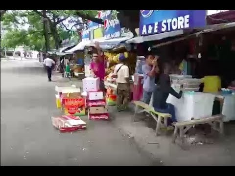 Philippines LIVE - Caught in the Rain, Mango Ave, Fuente Circle, Cebu City