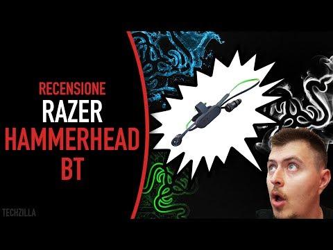 La cuffia per il gamer in movimento - Recensione Razer Hammerhead BT