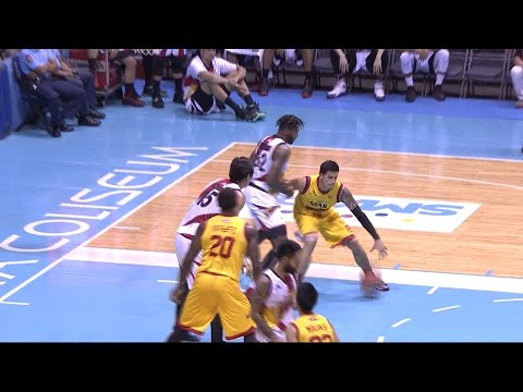 Pingris Pounces On Wilkerson! | PBA Commissioner