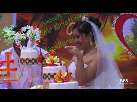 Kiribati - Kiriati & Buraniiti Wedding Reception Highlights 30 Dec 2017