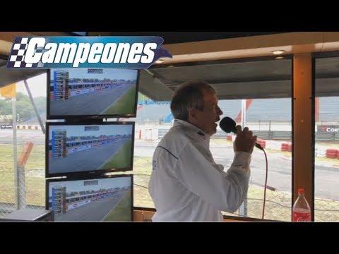 La victoria de Leonel Pernía en Buenos Aires en los relatos de Campeones