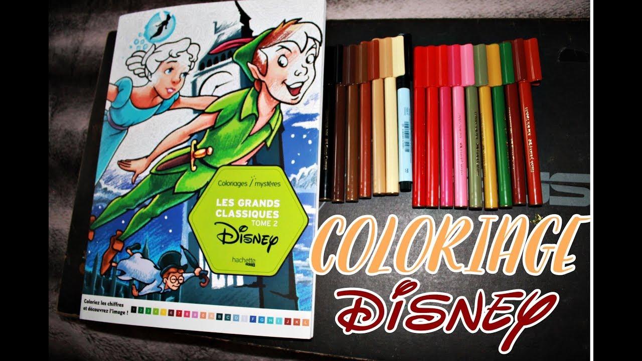 Coloriage mystère Disney n°12 ✰