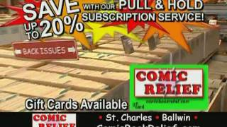 Comic Book Relief Commercial for St Charles 2