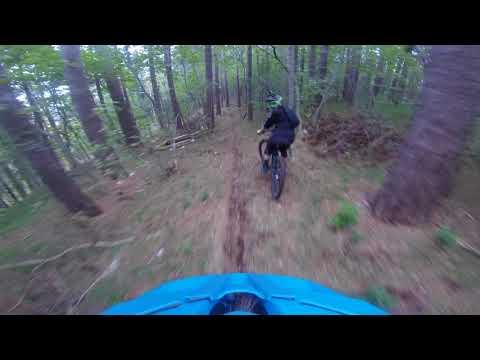 Sloenduro Ajdovščina 2017 stage 4, riding blind RAW