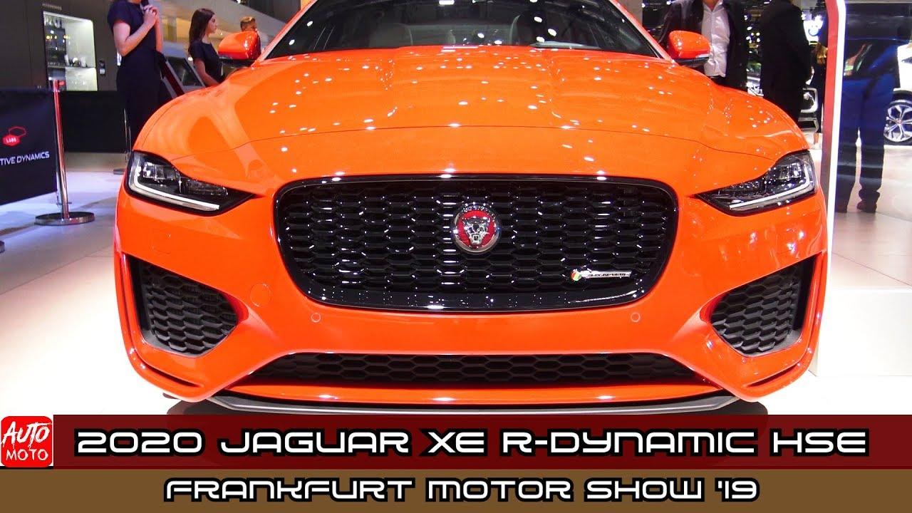 2020 Jaguar Xe R Dynamic Hse Exterior And Interior Debut At