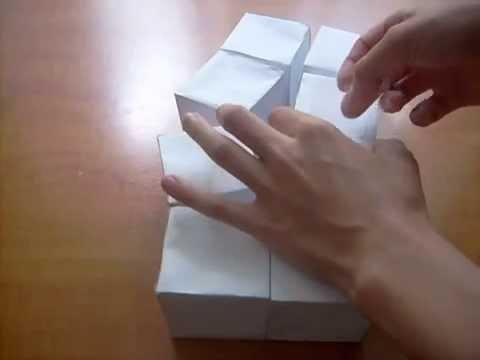 Сделай сам - Куб трансформер