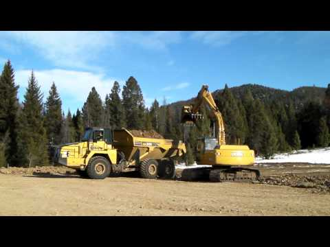 Site Excavation at the Butte Highlands Gold Project