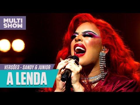 """Glória Groove canta """"A Lenda"""" Sandy e Junior  Versões  Música Multishow"""