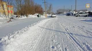 АСШN2 уборка снега/день рождение папы