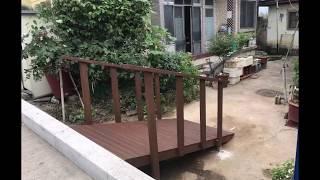 에코랜드 제작  데크로드  난간  데크  목재 시설물 …