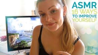 ASMR Self Improvement ~ 16 Steps For You ~