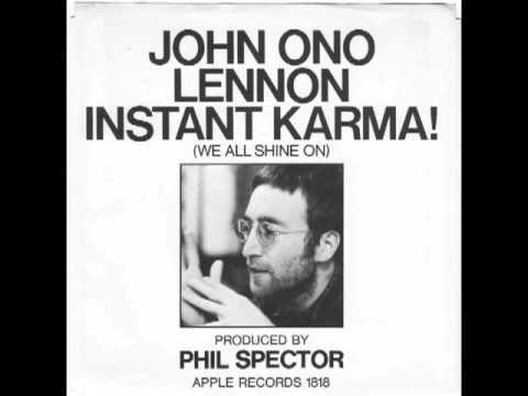 John Lennon Yoko Ono & the Plastic Ono Band Instant Karma (We All Shine On)