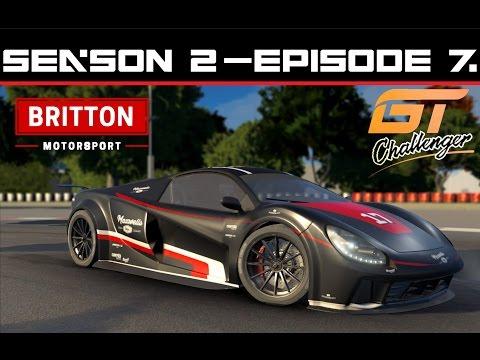 Motorsport Manager - GT Challenger Series - Britton Motorsport - S2 E7 |